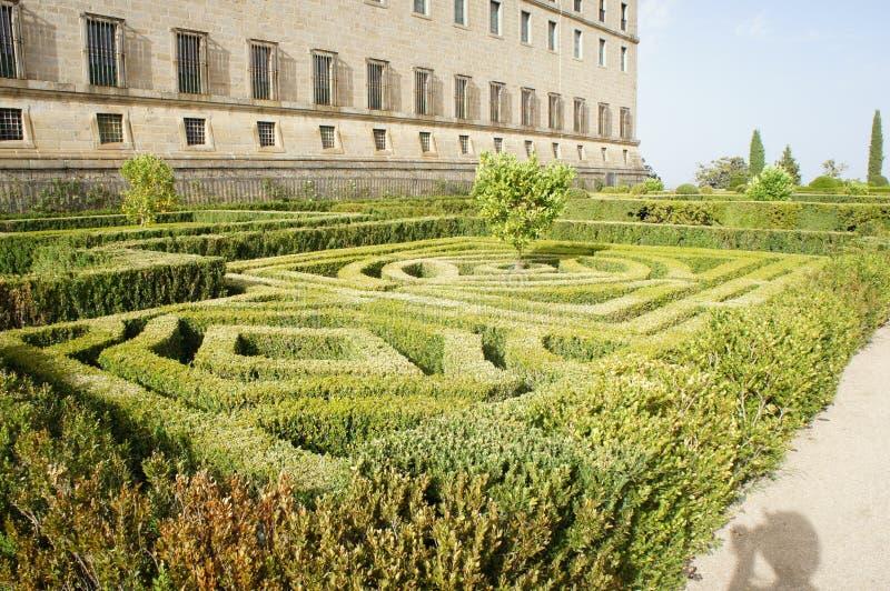Κήποι του μοναστηριού στοκ φωτογραφίες με δικαίωμα ελεύθερης χρήσης