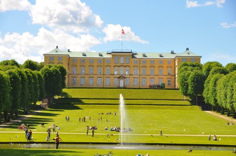 Κήποι του παλατιού Frederiksberg, Κοπεγχάγη στοκ εικόνες