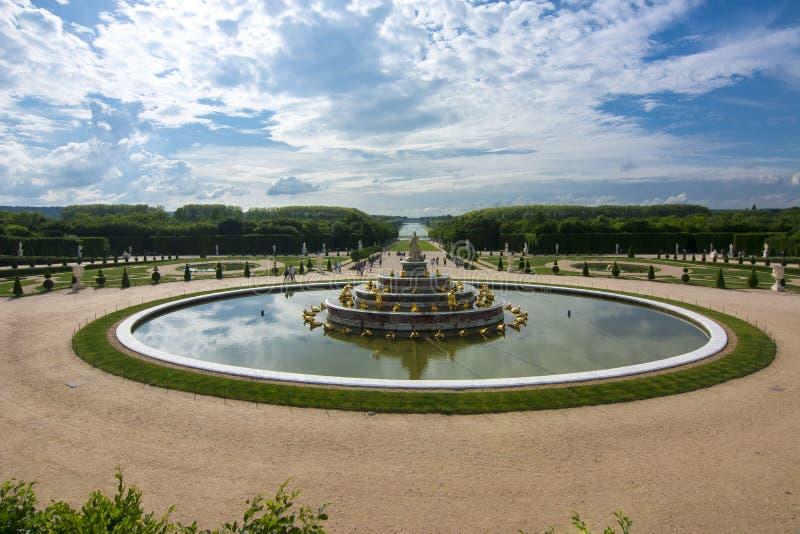 Κήποι των Βερσαλλιών, Παρίσι, Γαλλία στοκ εικόνες