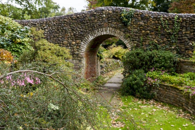 Κήποι Bressingham - δυτικά Diss στο Norfolk, Αγγλία - ενωμένη στοκ εικόνα με δικαίωμα ελεύθερης χρήσης
