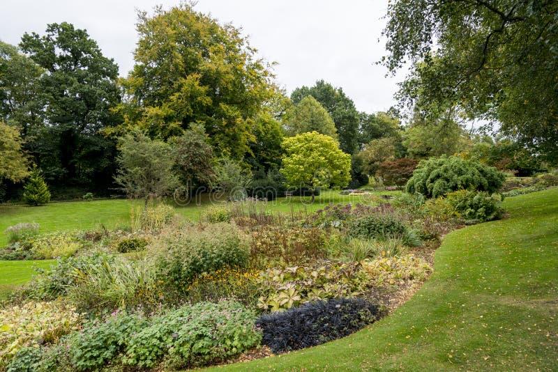 Κήποι Bressingham - δυτικά Diss στο Norfolk, Αγγλία - ενωμένη στοκ φωτογραφία με δικαίωμα ελεύθερης χρήσης