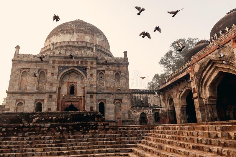 Κήποι Lodi στο Δελχί, Ινδία στοκ φωτογραφία