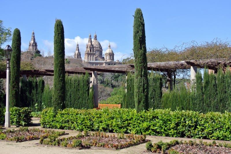 Κήποι Margala στη Βαρκελώνη στοκ εικόνες με δικαίωμα ελεύθερης χρήσης