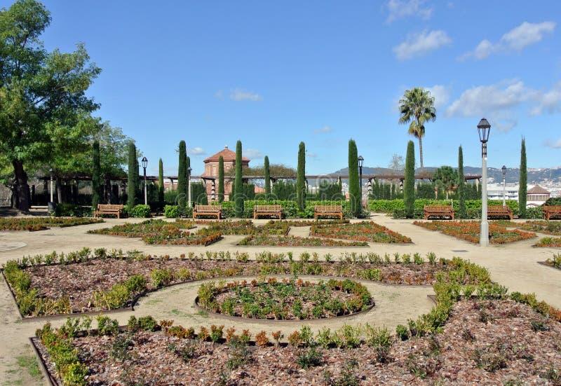 Κήποι Margala στη Βαρκελώνη στοκ εικόνα