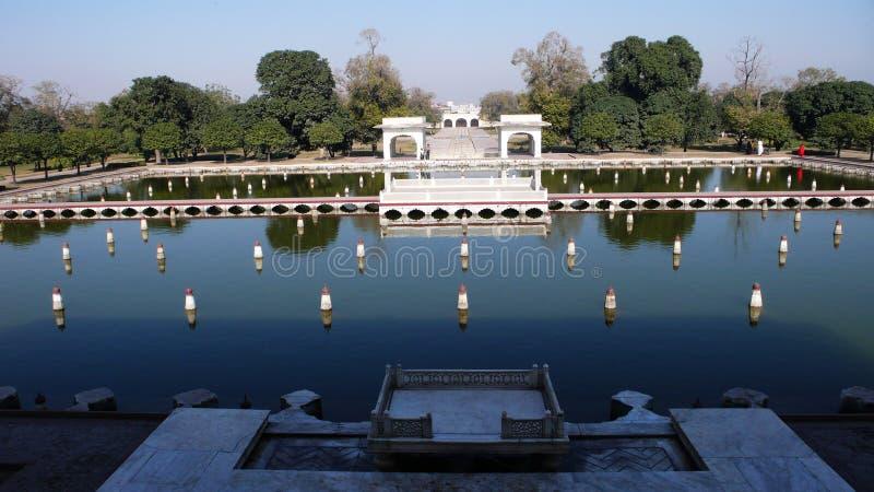 κήποι shalimar στοκ εικόνες