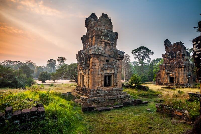 Κήποι Thom Angkor στοκ φωτογραφίες με δικαίωμα ελεύθερης χρήσης