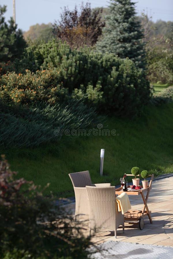 κήπος επίπλων στοκ εικόνα με δικαίωμα ελεύθερης χρήσης