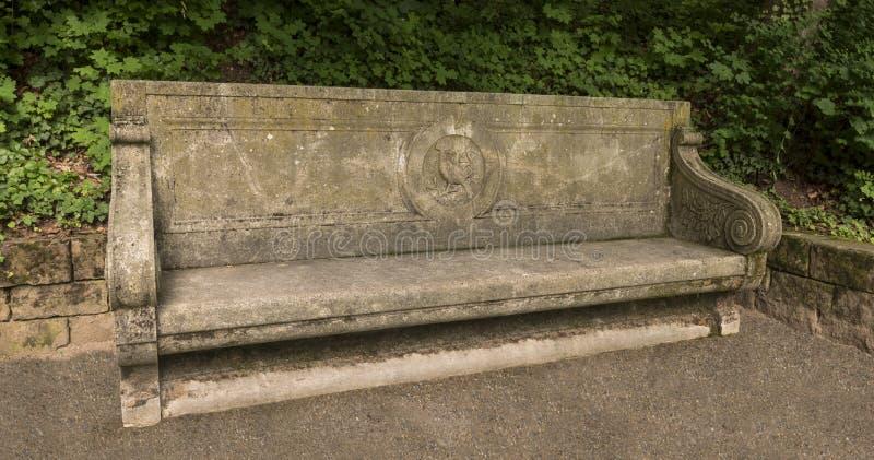 Κήπος κάστρων της Χαϋδελβέργης Baden Wuerttemberg, Γερμανία στοκ φωτογραφία με δικαίωμα ελεύθερης χρήσης