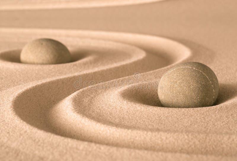 Κήπος πνευματικότητας της Zen στοκ εικόνες με δικαίωμα ελεύθερης χρήσης