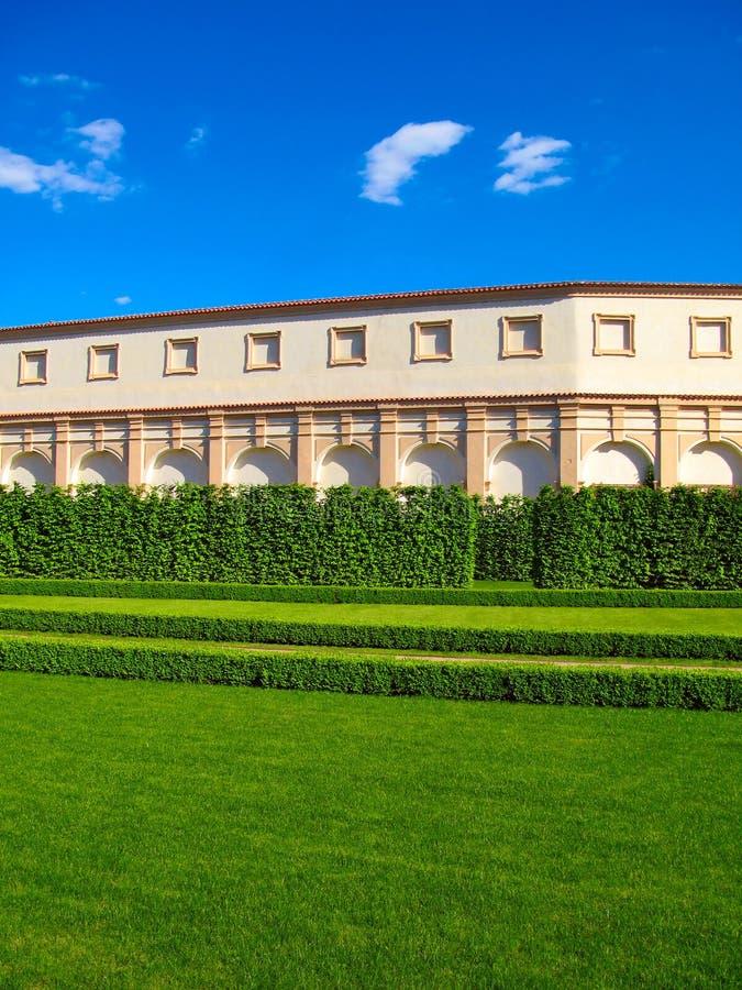 κήπος Πράγα wallenstein στοκ εικόνα με δικαίωμα ελεύθερης χρήσης