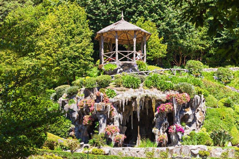 Κήπος σε Bom Ιησούς στοκ εικόνες
