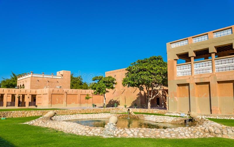 Κήπος στο μουσείο παλατιών Al Ain στοκ φωτογραφία