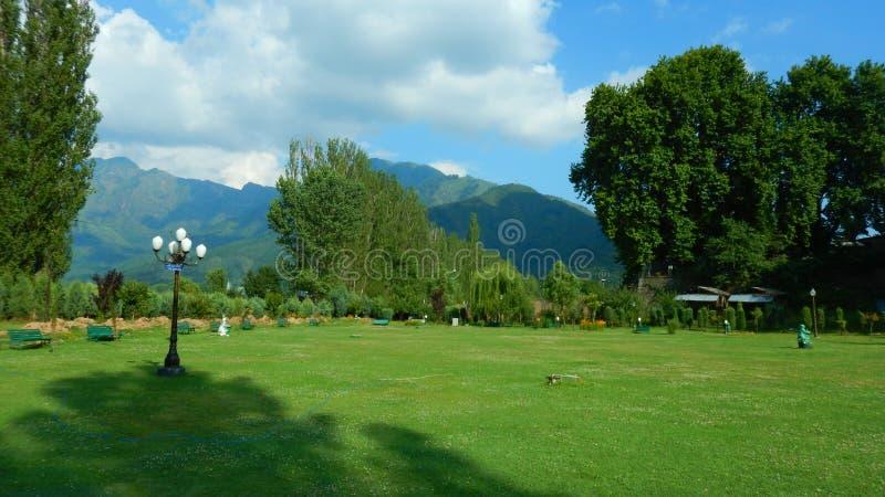 Κήπος στο Σπίναγκαρ-ι στοκ εικόνα με δικαίωμα ελεύθερης χρήσης