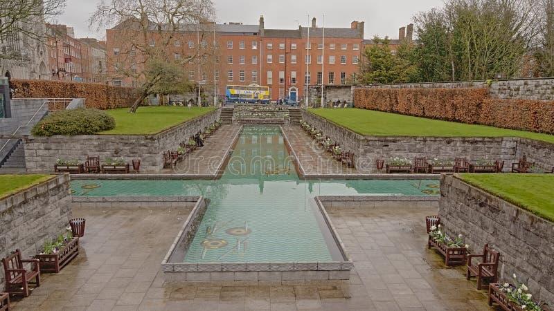 Κήπος της ενθύμησης, Δουβλίνο, Ιρλανδία στοκ εικόνες