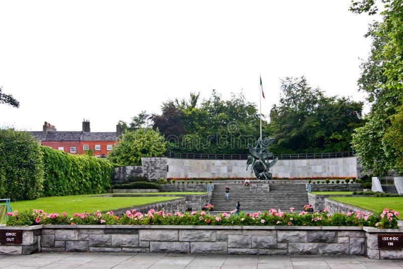 Κήπος της ενθύμησης, Δουβλίνο, Ιρλανδία στοκ φωτογραφίες