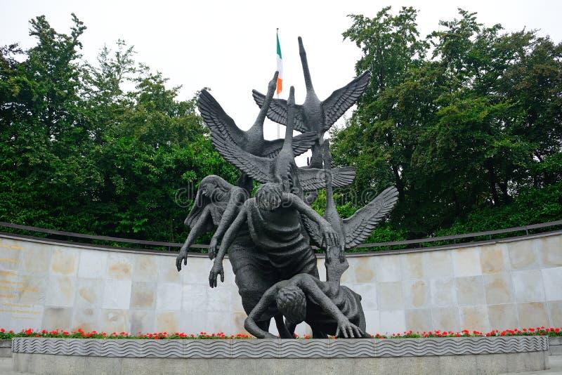 Κήπος της ενθύμησης, Δουβλίνο, Ιρλανδία στοκ εικόνα με δικαίωμα ελεύθερης χρήσης