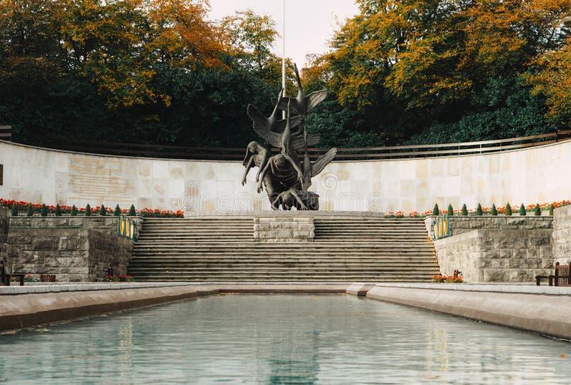 Κήπος της ενθύμησης, Δουβλίνο στοκ φωτογραφίες με δικαίωμα ελεύθερης χρήσης
