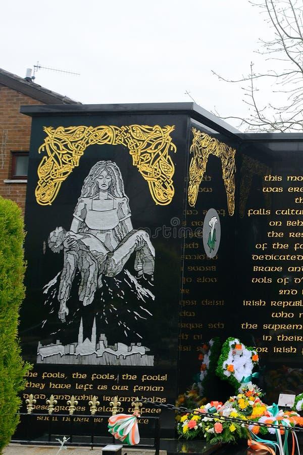 Κήπος της ενθύμησης, Μπέλφαστ, Βόρεια Ιρλανδία στοκ εικόνα