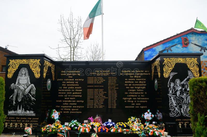 Κήπος της ενθύμησης, Μπέλφαστ, Βόρεια Ιρλανδία στοκ φωτογραφίες με δικαίωμα ελεύθερης χρήσης