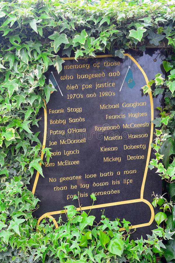 Κήπος της ενθύμησης, Μπέλφαστ, Βόρεια Ιρλανδία στοκ φωτογραφία