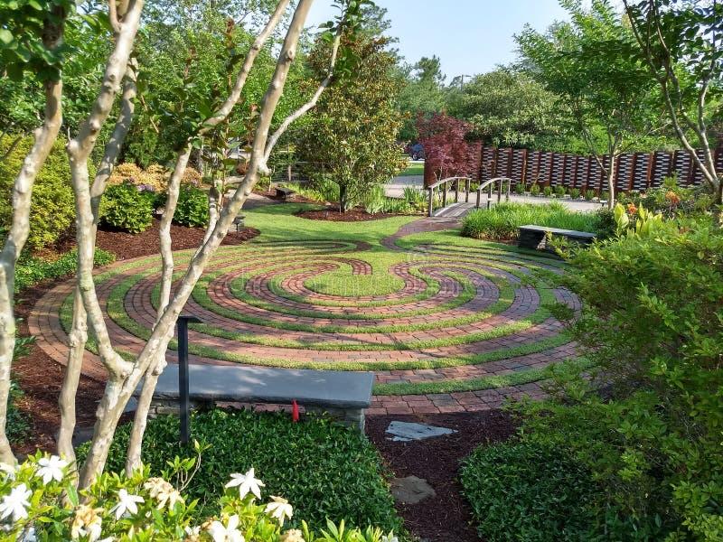 Κήπος της Zen στοκ εικόνα