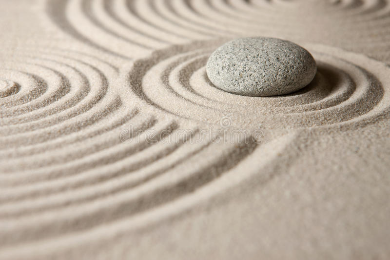 Κήπος της Zen στοκ εικόνα με δικαίωμα ελεύθερης χρήσης