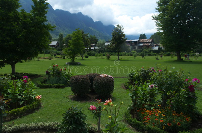 Κήπος τοπίο-5 Shalimar στοκ εικόνες