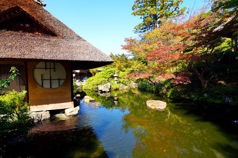 Κήπος του Κιότο στοκ φωτογραφία με δικαίωμα ελεύθερης χρήσης