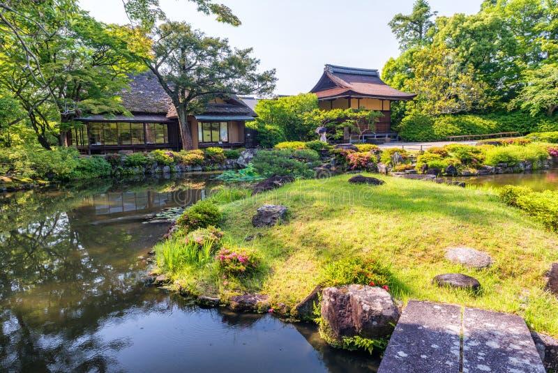 Κήπος του Νάρα, Ιαπωνία - Isuien Ιαπωνικός κήπος ύφους στοκ φωτογραφία με δικαίωμα ελεύθερης χρήσης