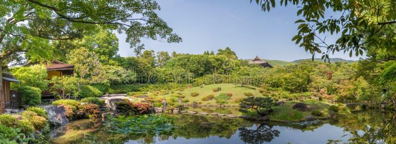 Κήπος του Νάρα, Ιαπωνία - Isuien Ιαπωνικός κήπος ύφους στοκ φωτογραφία