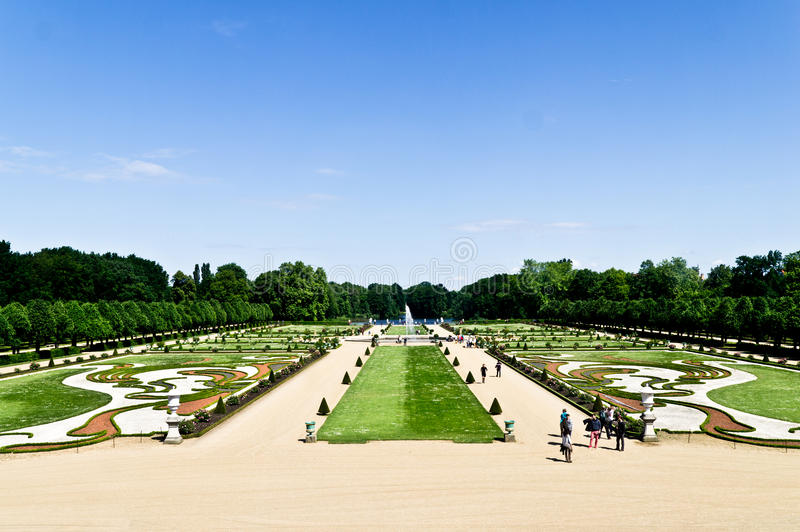 Κήπος του Σαρλότεμπουργκ στοκ φωτογραφίες