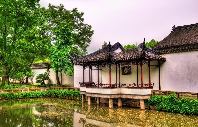 Κήπος του ταπεινού διοικητή, ο μεγαλύτερος κήπος σε Suzhou στοκ εικόνες με δικαίωμα ελεύθερης χρήσης