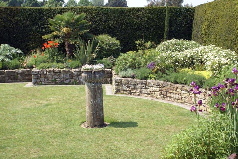 Κήπος του Castle Hever στην Αγγλία στοκ εικόνες
