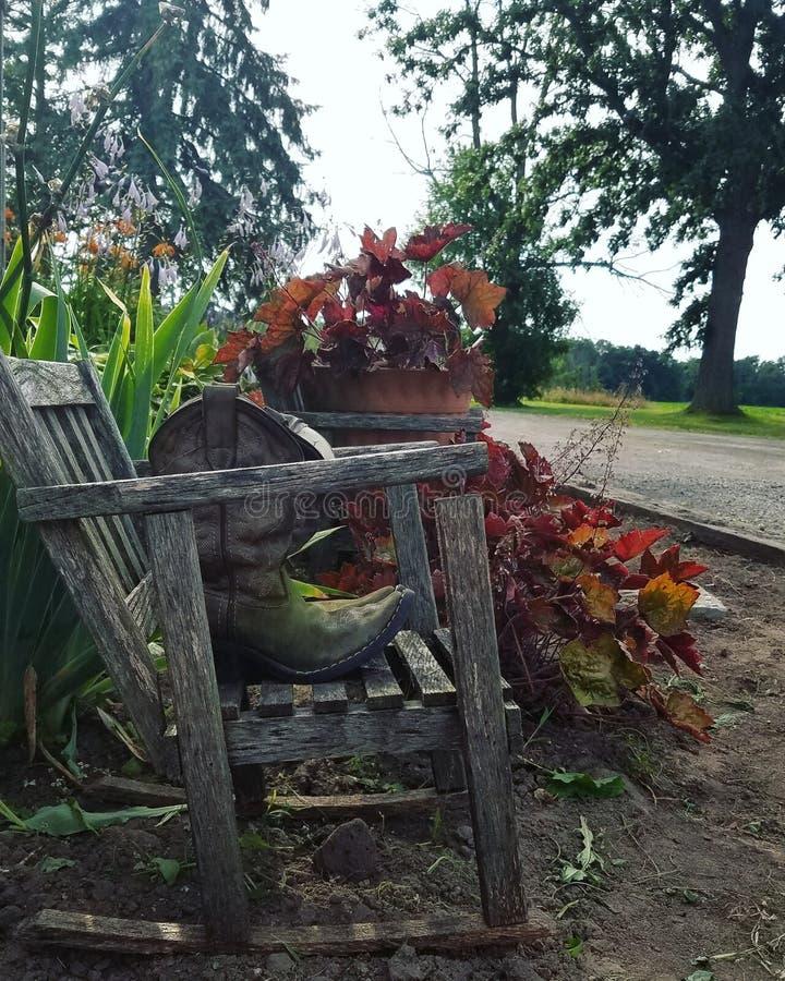 Κήπος χώρας στοκ φωτογραφία με δικαίωμα ελεύθερης χρήσης
