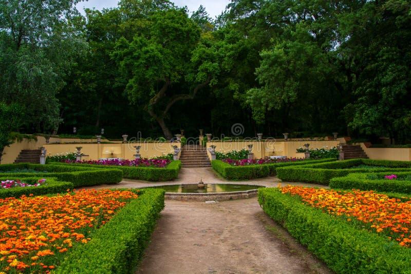 Κήπος Cerco στη Μάφρα στην Πορτογαλία στοκ εικόνα με δικαίωμα ελεύθερης χρήσης