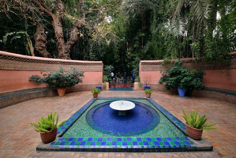 Κήπος Majorelle στοκ φωτογραφίες με δικαίωμα ελεύθερης χρήσης