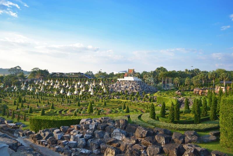 κήπος nong nooch τροπικός στοκ φωτογραφία