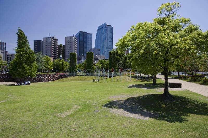 Κήπος Noritake, Νάγκουα, Ιαπωνία στοκ εικόνα με δικαίωμα ελεύθερης χρήσης