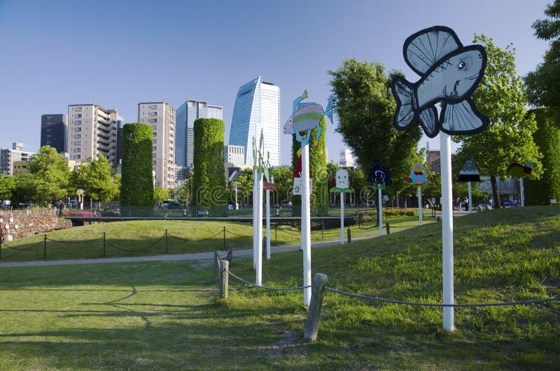 Κήπος Noritake, Νάγκουα, Ιαπωνία στοκ εικόνες