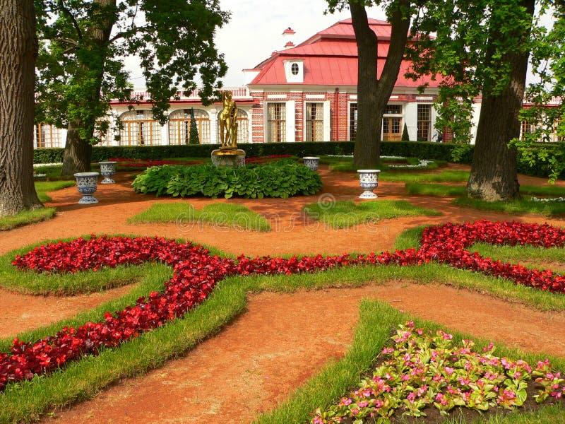 κήπος Peterhof Στοκ φωτογραφία με δικαίωμα ελεύθερης χρήσης