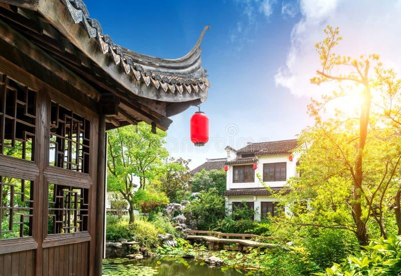 Κήπος Suzhou, Κίνα στοκ εικόνες