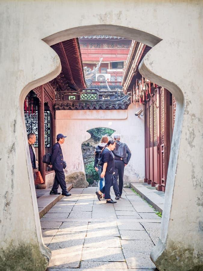 Κήπος Yuan Yu Yu, Σαγκάη, Κίνα στοκ φωτογραφία με δικαίωμα ελεύθερης χρήσης