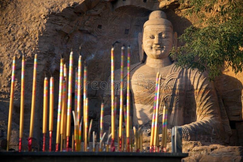 Κίνα datong grottoes yungang στοκ φωτογραφία