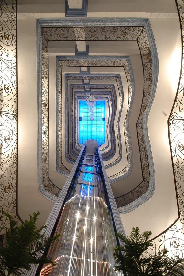κίνηση ανελκυστήρων στοκ εικόνα με δικαίωμα ελεύθερης χρήσης