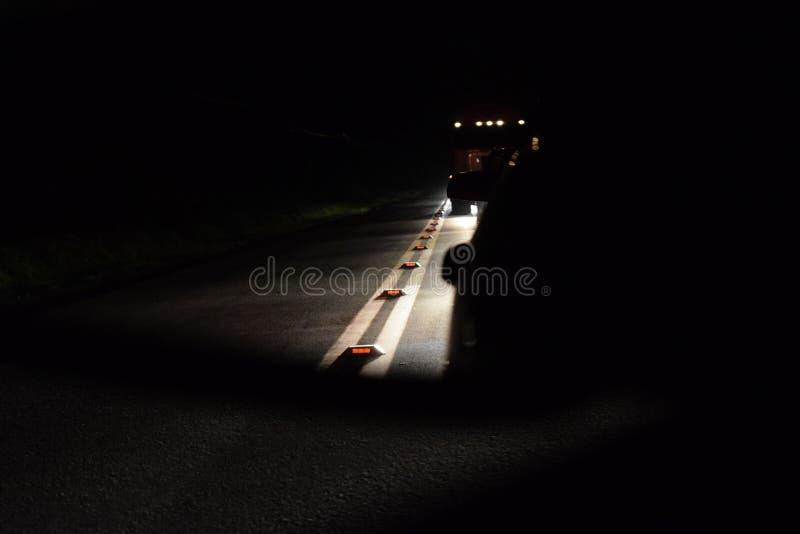 Κίνηση καθρεφτών νύχτας στοκ εικόνα