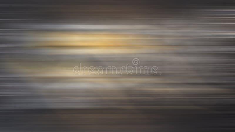 Κίνηση υποβάθρου που κινεί ταχύ καφετή γκρίζο κίτρινο θαμπάδων ελεύθερη απεικόνιση δικαιώματος