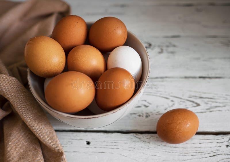 Κίτρινα αυγά στοκ φωτογραφία