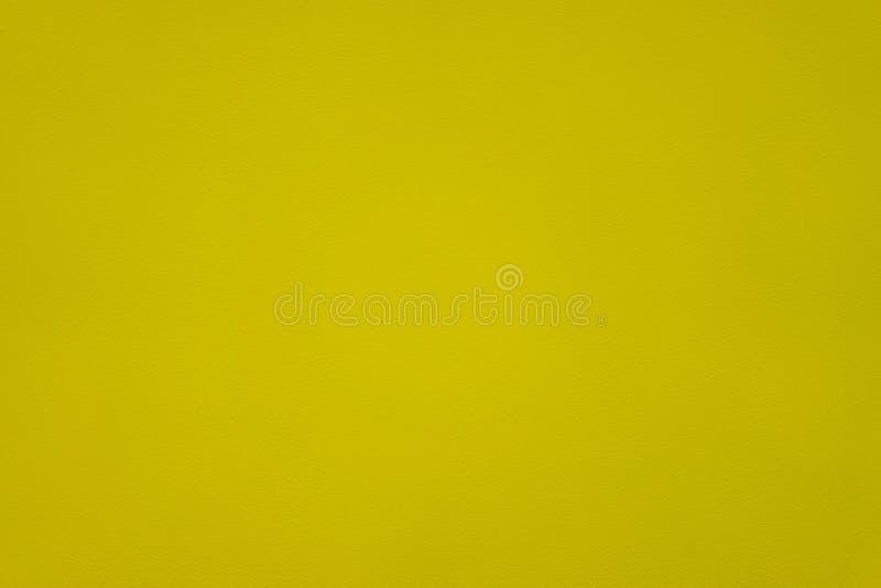Κίτρινη επιφάνεια, τραχιά επιφάνεια στον τοίχο τραχύ στοκ φωτογραφία με δικαίωμα ελεύθερης χρήσης