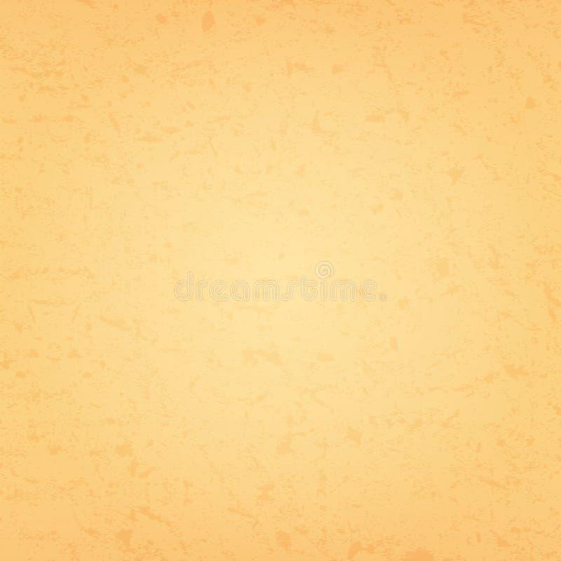 Κίτρινη διανυσματική σύσταση του εγγράφου διανυσματική απεικόνιση
