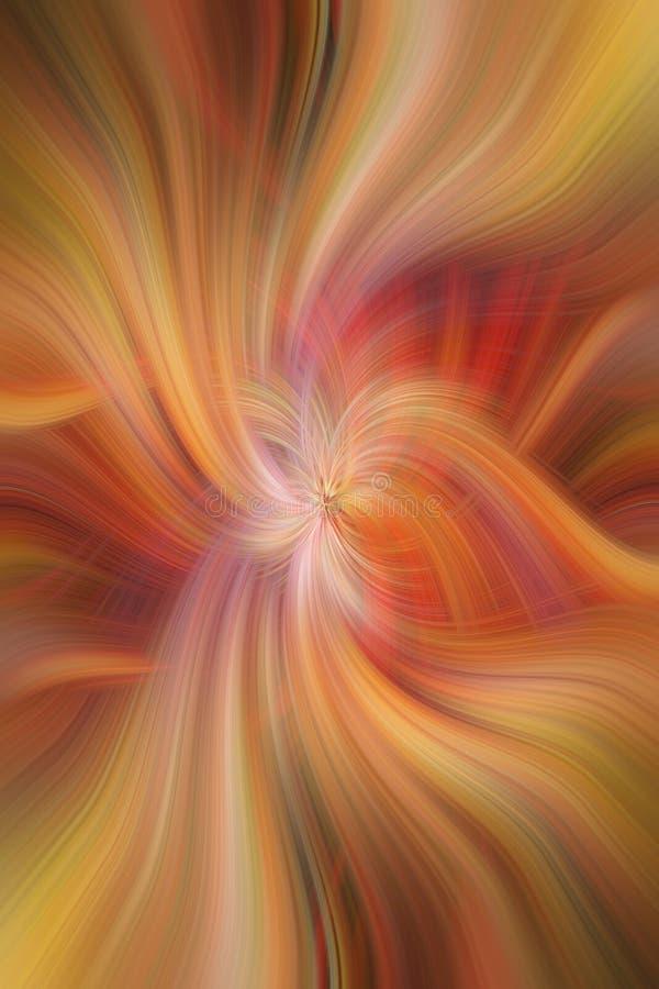 Κίτρινη πορτοκαλιά ρόδινη χρωματισμένη περίληψη Ευγένεια έννοιας στοκ φωτογραφίες με δικαίωμα ελεύθερης χρήσης